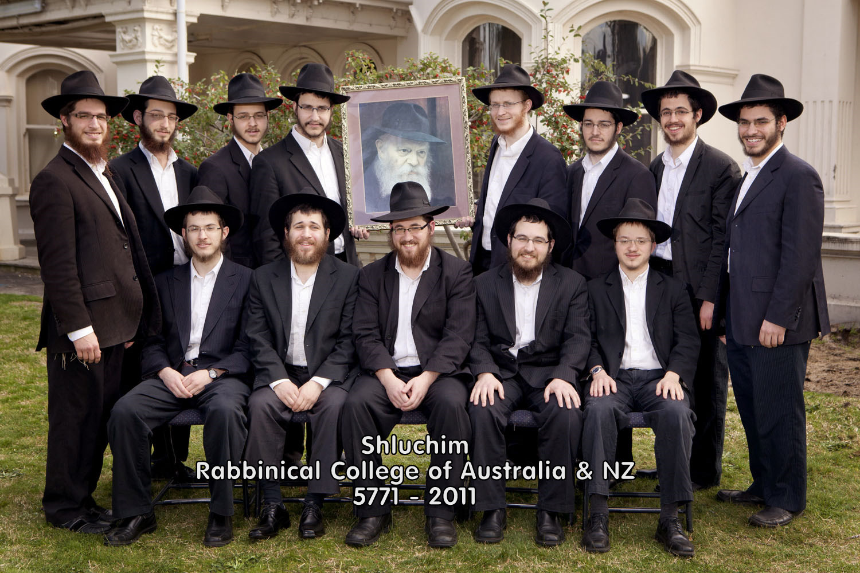 Shluchim - Rabbinical College of Australia & NZ - 5771