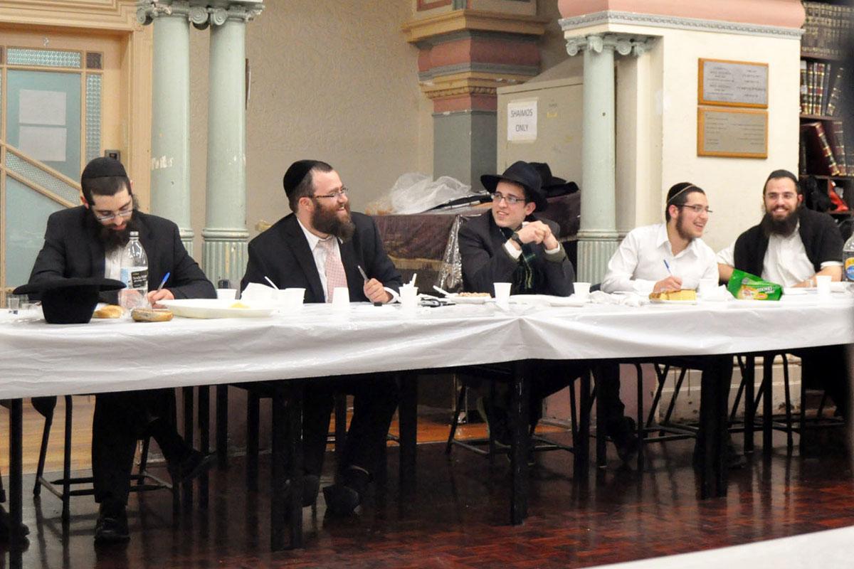 Rabbi Miller at YG