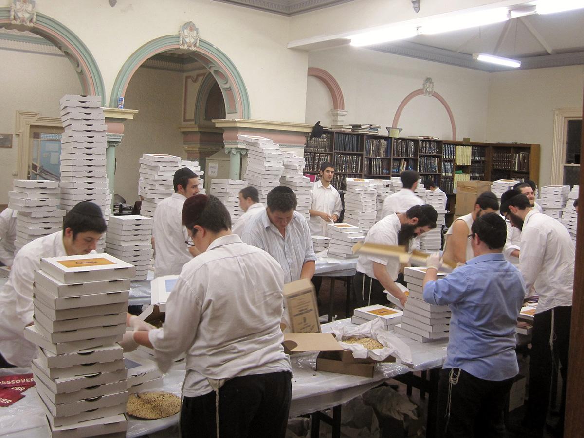 Matzah Packing