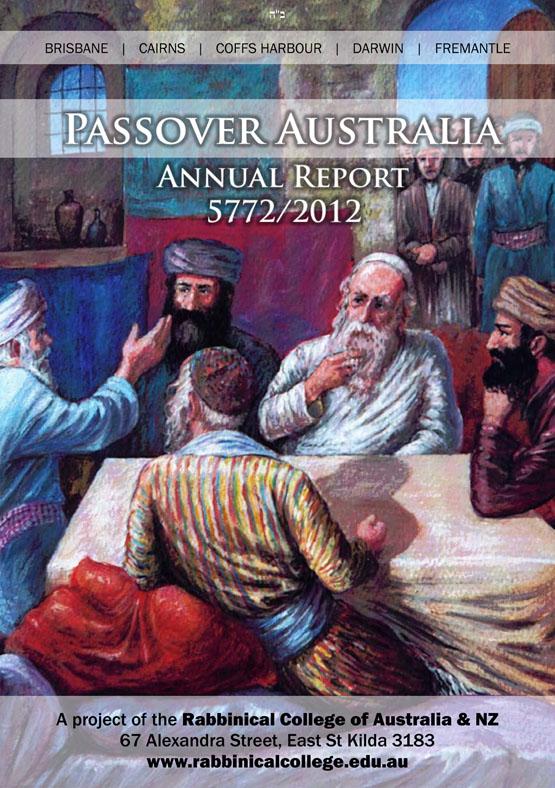 Passover Australia Report 5772 - 2012