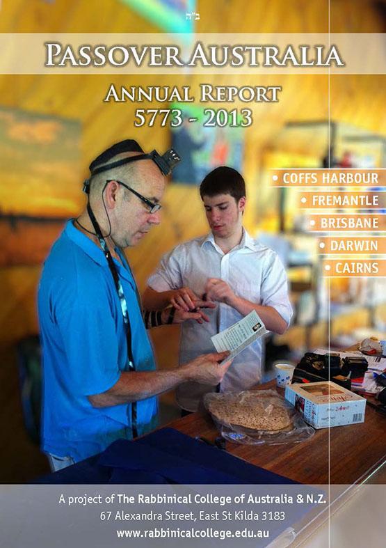 Passover Australia Report 5773 - 2013