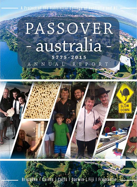 Passover Australia Report 5775 - 2015